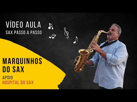 Aula de Saxofone passo a passo Marquinhos do Sax