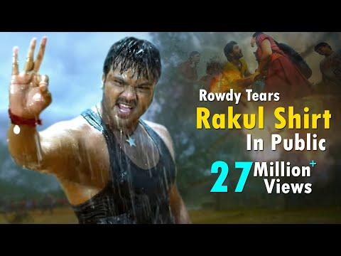 Xxx Mp4 Rowdy Tears Rakul Shirt In Public Latest Telugu Movie Scenes Niharika Movies 3gp Sex