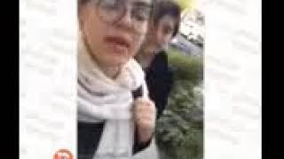 فیلم دختر شجاع ایران که 16 ساله هست و بدون حجاب در خیبابان ها راه میرود
