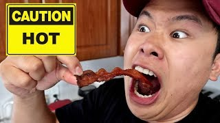 GHOST PEPPER BACON CHALLENGE!!! (TERRIBLE IDEA)