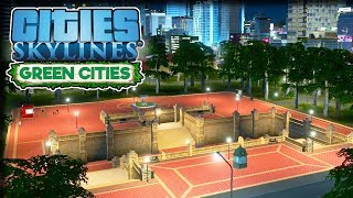 Parks & Plazas – Cities Skylines Green Cities Gameplay – Let's Play Part 21