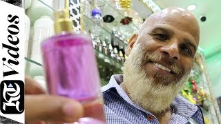 The perfume maker in Dubai Gold Souq who can create any fragrance