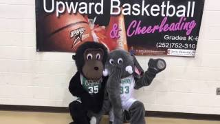 Upward Basketball Mascot Day (trailer) Season #7  Jarvis Memorial UMC  Greenville NC