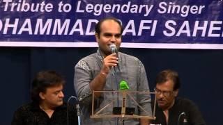Chirag Panchal singing