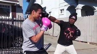 Boxeo Extremo con Desconocidos en la calle! K.O.