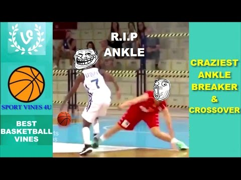 The CRAZIEST Ankle Breakers and Crossovers 2017 Best Basketball Moments