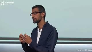 Sundar Pichai on what is Google's AI first Strategy