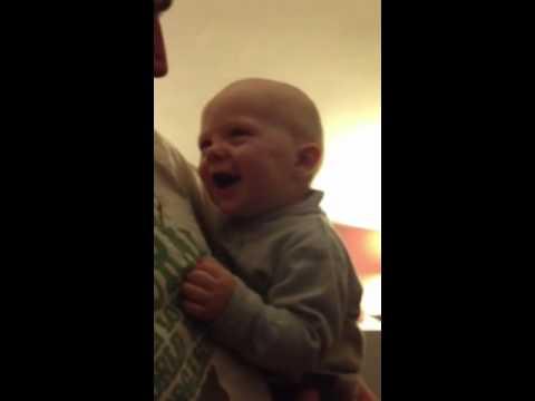 Laughing baby boy xxxx