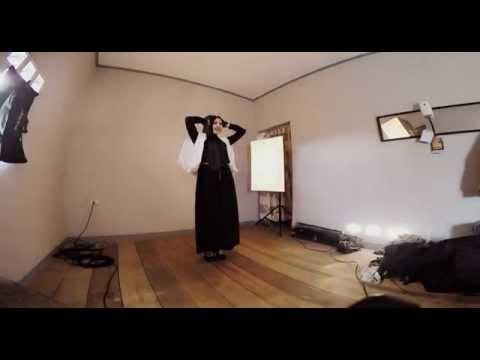 Fashion Hijab Modeling Pose