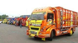 Keren, Kontes Akbar Modifikasi Truk Indonesia (Truck Fuso Canter, Colt Diesel, Hino dll) KAMT 2015