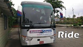Knutsford Express King Long Coach Kingston to Ocho Rios (via North-South Highway) Ride