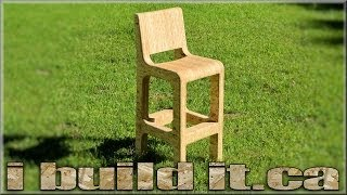 Making A Stool From OSB