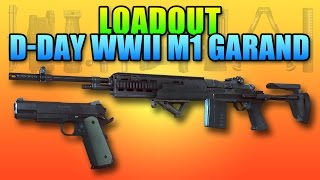 Loadout D-Day WWII M39 EMR & M1911  | Battlefield 4 DMR Gameplay