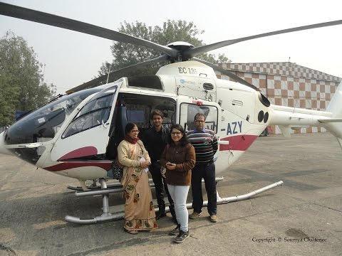 Kolkata to New Digha Helicopter Service / Behala Flying Club Helicopter Ride(West Bengal Tourism).