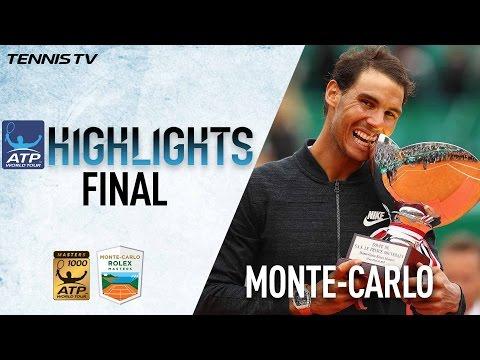 Highlights Rafael Nadal Wins Historic 10th Monte Carlo Title
