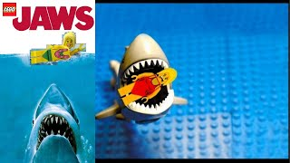 LEGO JAWS Shark Attack - FUNNY!