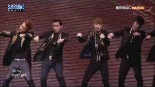 [SS5 in Brazil] Super Girl (Korean ver.) - Super Junior