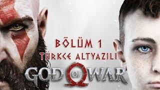 KRATOS GERİ DÖNDÜ ! | GOD OF WAR PS4 TÜRKÇE Bölüm 1