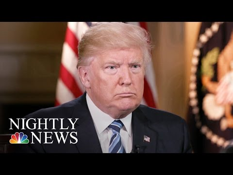 President Donald Trump On His Firing Of James Comey (Extended Exclusive) | NBC Nightly News