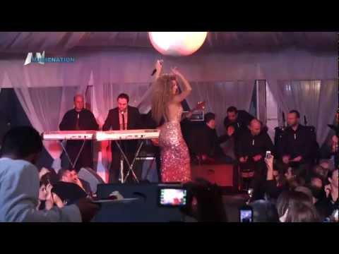 Myriam Fares ميريام فارس في حفل عيد الحب حقلق راحتك
