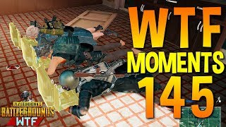 PUBG WTF Funny Moments Highlights Ep 145 (playerunknown