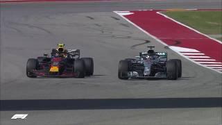 Hamilton Battles Verstappen | 2018 United States Grand Prix