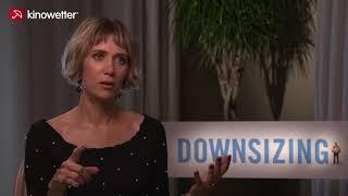 Interview Kristen Wiig DOWNSIZING
