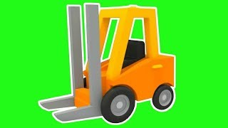 Excavator Max & a loader. Cartoons & games for kids.