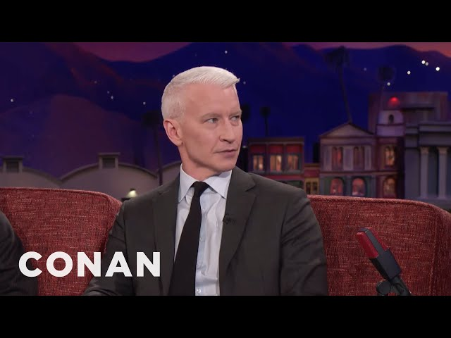 Anderson Cooper: Haiti Is One Of The Richest Countries I've Ever Been To  - CONAN on TBS