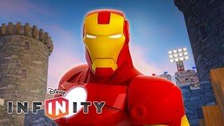 IRON MAN - Jeux Vidéo de Dessin Animé en Français - Super Héros Marvel pour Enfants Disney Infinity