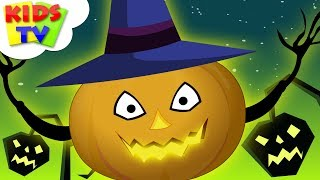 Happy Halloween Scary Songs For Children   Nursery Rhymes And Kids Songs For Toddlers By Kids Tv