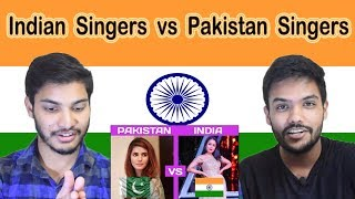 Indian reaction on Pakistan Singers vs Indian Singers | Swaggy d
