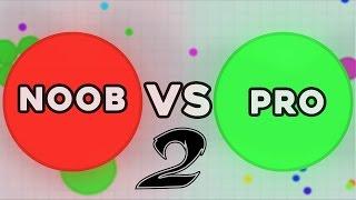 NOOB vs. PRO - AGAR.IO Part 2!