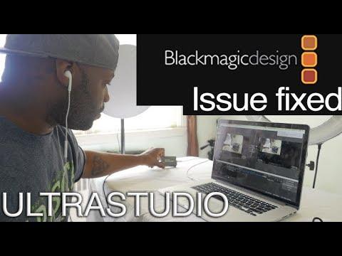 Blackmagic UltraStudio Mini no device detected fixed