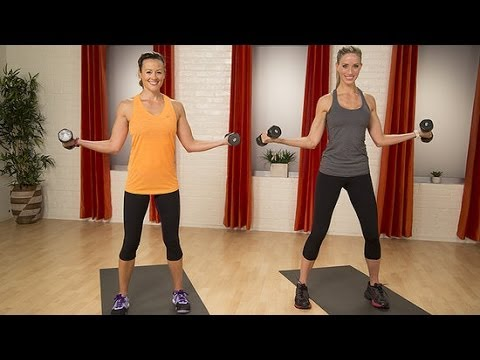 5 Minute Sexy Sculpted Arm Workout POPSUGAR Training Club