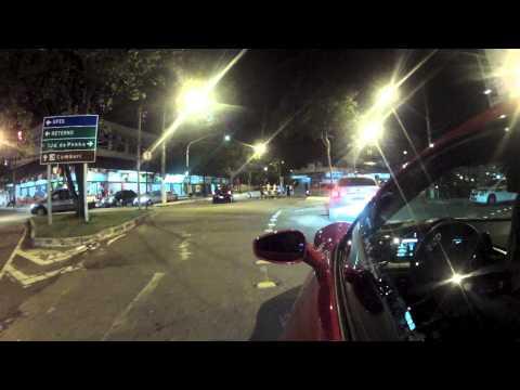Uma volta de Ferrari 458 Itália pelas ruas de Jardim da Penha e Praia do Canto em Vitória