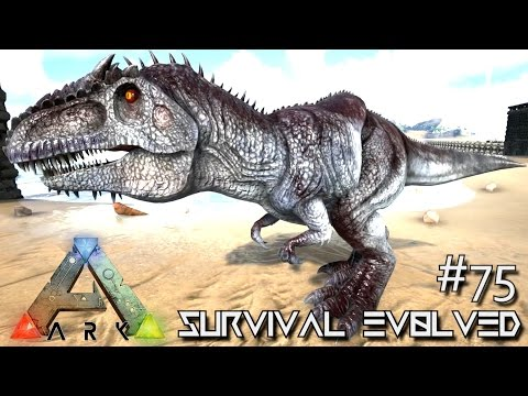 ARK Survival Evolved BABY GIGANOTOSAURUS BREEDING & GIGA TAMING SEASON 3 S3 E75 Gameplay