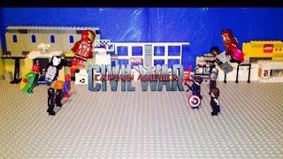 Lego Captain America Civil War Airport Battle Part 1