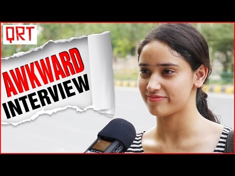 WHY DO GIRLS COVER THEIR MOUTH WHILE LAUGHING | AWKWARD INTERVIEW | Quick Reaction Team