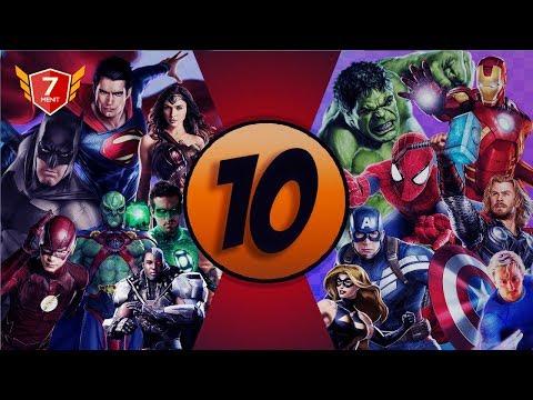 10 Film Superhero Terpopuler DC dan Marvel
