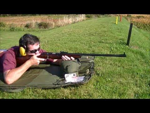 TOZ 8M .22 Rifle at 300 Yards