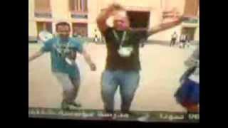 فرحة احمد موسى و قناة صدى البلد بفوز السيسى