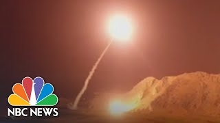 Iran Missiles Aimed At Syria Militants Carry Message For U.S., Israel | NBC News