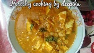 Makhana paneer kaju curry