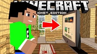 THE FURNITURE MOD in MCPE!!! - 0.15.2+ Amazing Decorations! - Minecraft PE (Pocket Edition)