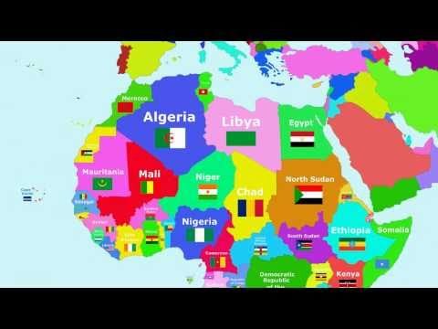 watch The Countries of the World Song - Africa