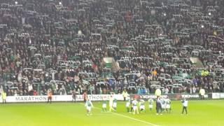 Hibs 3 Hearts 1 Scottish Cup 22 February 2017 Sunshine on Leith