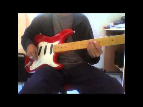 Jimmy THERMEA sé elle guitar ryhtmique solo cover