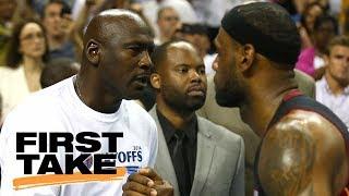 LeBron James replacing Michael Jordan as inspiration to young players?   First Take   ESPN