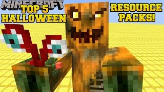 Minecraft: TOP 5 BEST HALLOWEEN RESOURCE PACKS